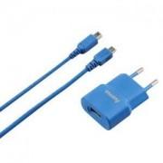 Зарядно 220V -USB за Nintendo 3DS син - HAMA-53442