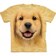 The Mountain Honden T-shirt Golden Retriever puppy voor kinderen