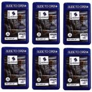 Madni Perfumes Blue Jeans Pocket Perfumes 6 Pieces Each Piece 250 Sprays Eau de parfum120ml