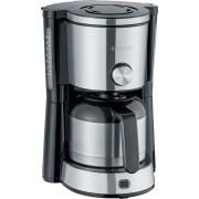 SEVERIN Koffiezetapparaat KA 4845 1 L Roestvrij staal, zwart