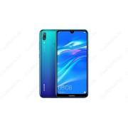 Huawei Y7 (2019) Dual SIM, kék, Kártyafüggetlen, Gyártói garancia