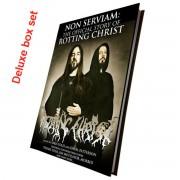 kniha (dárkový set) Non Serviam: Rotting Christ (Signed deluxe hardback boxset) - CULT010-1