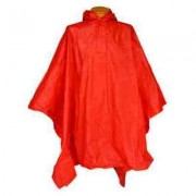 Child Red Re-Usable PVC Ponchos
