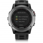 Reloj Garmin fenix 3 Watch Only - Negro