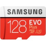 Samsung EVO Plus 128 GB MicroSDXC Class 10 100 Mbps Memory Card(With Adapter)