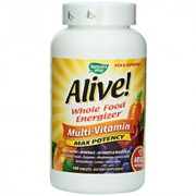NatureS Way Alive! Max Potency Multi-Vitamin - 180 Tablets
