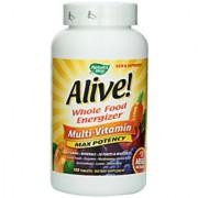 NatureS Way Alive! Max Potency Multi-Vitamin - 180 Tablets