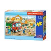 Puzzle In constructie, 120 piese