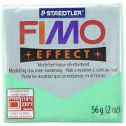 Fimo Soft Polymer Clay 2 Ounces-8020-504 Transparent Green
