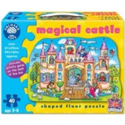 Puzzle de podea Castelul magic 40 piese MAGICAL CASTLE