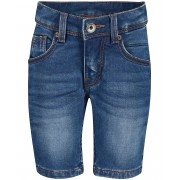 JBC Washed jeansshort, 2-7 jaar met draagplooitjes