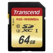 Cartão de Memória Transcend TS64GSDU3 Ultimate SDXC - 64GB