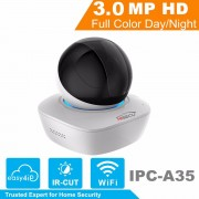 In Stock IP Camera Indoor DaHua WiFi Camera IPC-A35 OEM 3MP Wireless IP Camera 16x Wi-Fi Network PT Camera Built-in Speaker & SD