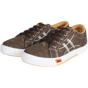 Unistar Canvas Shoes 5005-Brown