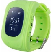 Ceas Smartwatch copii Wonlex Q50 functie telefon, buton SOS, monitorizare, GPS, SIM Verde