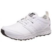 Reebok Men's Walk Optimum White/Met Sil/Pewter/Blk Nordic Walking Shoes - 6 UK/India (39 EU) (7 US)