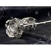 ST.LEONHARD Rose éternelle - Argentée à l'argent 999/1000