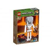 MINECRAFT SCHELET BIGFIG SI CUB DE MAGMA - LEGO (21150)
