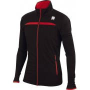 Sportful Engadin Wind - giacca sci da fondo - uomo - Black/Red