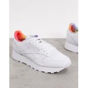 Reebok Pride Classic Leather trainers in white - male - White - Size: 10