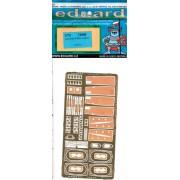 EDU72566 1:72 Eduard PE - Lancaster B Mk II Exterior Detail Set (for use with the Airfix kit) MODEL KIT ACCESSORY