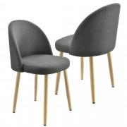 [en.casa]® Sada židlí AAVC-8454