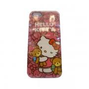 Funda Protector iPhone 5 Kitty con Oso Rosa