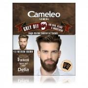 Farba protiv sedih za kosu, bradu i brkove CAMELEO MEN 4.0 srednje smedja 2x15ml