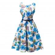Vestido Casual JoinGo Azul