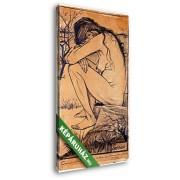Vincent Van Gogh: Szomorúság (20x30 cm, Vászonkép )