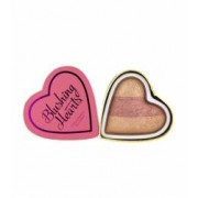 Blush Iluminator Makeup Revolution I Heart Makeup Blushing Hearts - Peachy Keen 10g