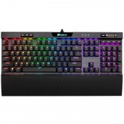 Corsair K70 RGB MK.2 Low Profile Rapidfire Teclado Mecânico Gaming Retro-iluminado Cherry MX Red