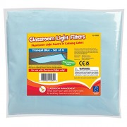 Educational Insights Classroom Light Filters, Tranquil Blue (Set of 4)