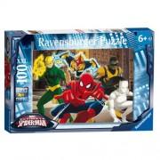 Puzzle Spiderman, 100 piese, RAVENSBURGER Puzzle Copii
