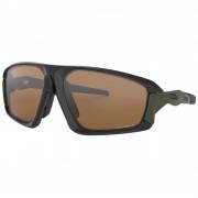 Oakley Field Jacket Polarised Sunglasses - Matte Black/Prizm Tunsten