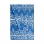 Bassetti Time Foulard Telo Arredo TABRIZ 3 blu 270x270 cm puro cotone
