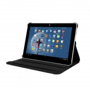 EH 10.1 '' Galaxy Tab 2 P5100 / P5110 / P5113 / Samsung Tablets Rotating PU Leather Case -Negro