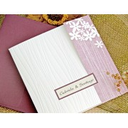 Invitatii nunta eleganta cod 32717