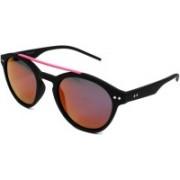 Polaroid Round Sunglasses(Pink)