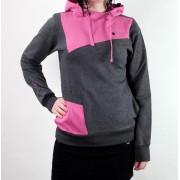 kapucnis pulóver női - Bolsa - FUNSTORM - Bolsa - 20 D GREY