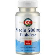 KAL Niacin 500 mg - Flush free - 60 veg. Kapseln