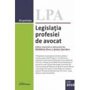 Legislatia profesiei de avocat act. Iulie 2018