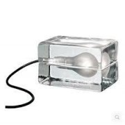 Replica Ice Cube Table Lamp - clear glass