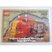 "Instruction Manuals For Lego 9v Train Set #10020 ""Santa Fe Super Chief"""