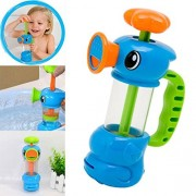 XUANOU Pumping Ducks Bathing Water Toys Child Baby Kids Bath Shower Swimming Pool Water Toys Duck Design Water Pump Toy