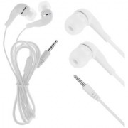 HEADFREE FOR MOBILE PHONE WHITE COLOR 3.5 MM JACK CODE-706