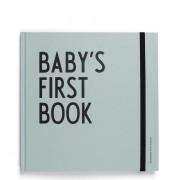 Baby?s first Book Babyalbum Türkis Design Letters