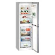 Combina frigorifica Liebherr CNel 4213, 294 L, No Frost, Display, Control electronic, Raft sticle, Alarma usa, H 186.1 cm, A++, Argintiu