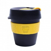 "KeepCup Kubki do kawy KeepCup ""Black/Yellow"", 227 ml"