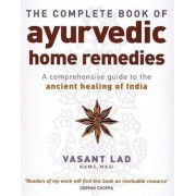 Complete Book Of Ayurvedic Home Remedies, Paperback